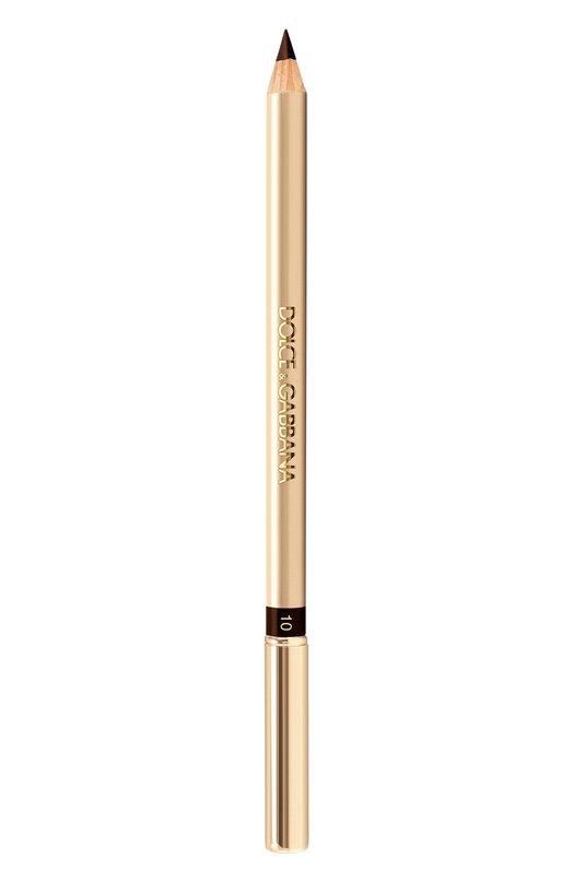 Купить Карандаш для глаз, оттенок 10 Chocolate Dolce & Gabbana, 3024335DG, Италия, Бесцветный