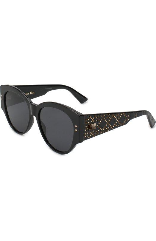 Купить Солнцезащитные очки Dior, LADYDI0RSTUDS2 807, Италия, Черный