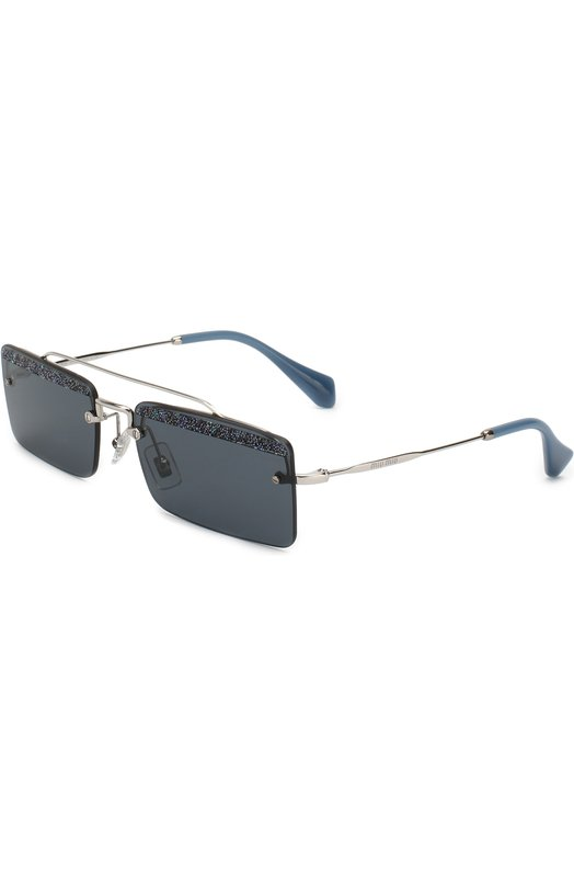 Купить Солнцезащитные очки Miu Miu, 59TS-KJT2K1, Италия, Синий