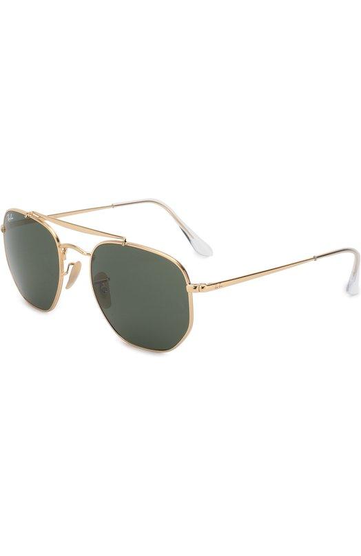 Купить Солнцезащитные очки Ray-Ban, 3648-001, Италия, Золотой
