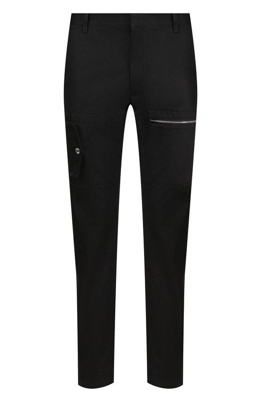 Хлопковые брюки прямого кроя  Valentino