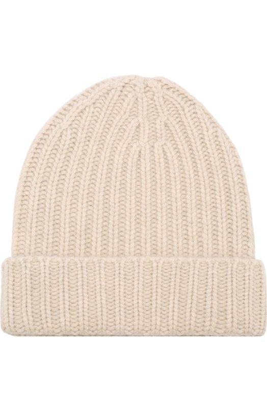 Кашемировая шапка фактурной вязки Vintage Shades
