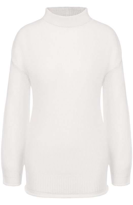 Кашемировый пуловер с воротником-стойкой Giorgio Armani