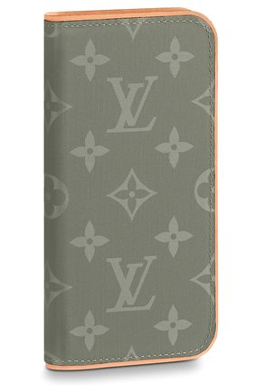 Чехол для iPhone X Folio Louis Vuitton #color# | Фото №1
