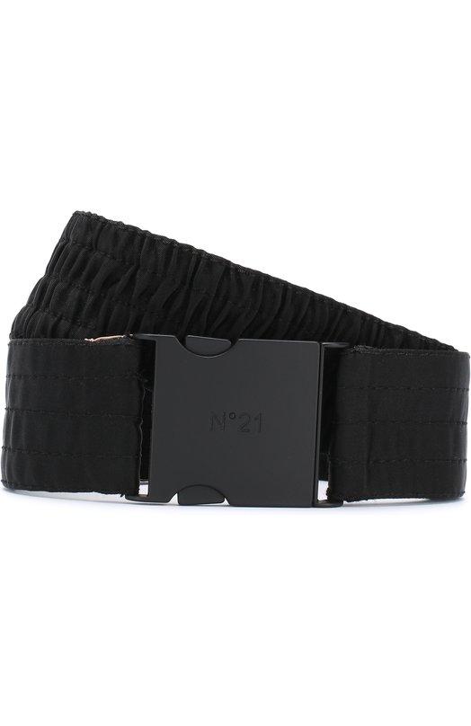 Купить Текстильный пояс No. 21, 18I N2M1/6602/5489, Италия, Черный, Текстиль: 100%;