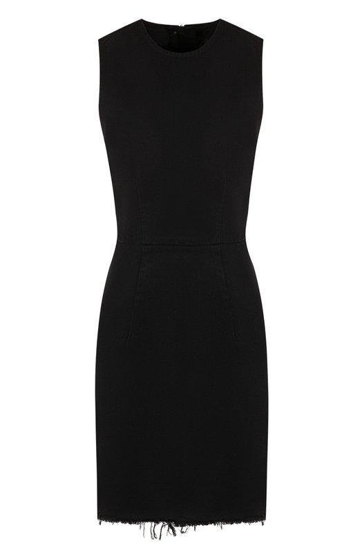 Купить Джинсовое мини-платье с круглым вырезом Denim X Alexander Wang, 4D996009AJ, США, Черный, Хлопок: 100%;