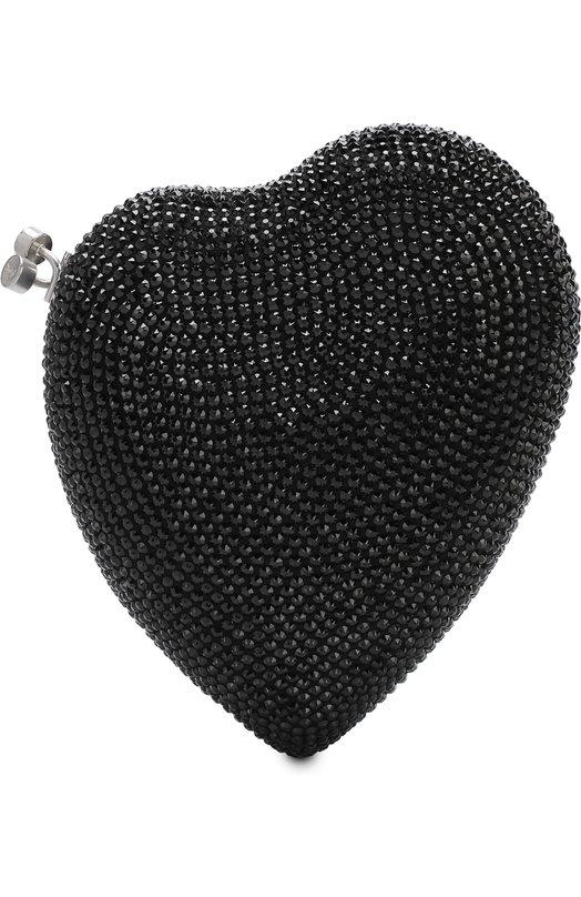 Купить Клатч Love Saint Laurent, 484049/0TR16, Италия, Черный, Металл: 100%;