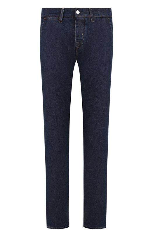Купить Джинсы прямого кроя 2 Men Jeans, LUPIN/TNFL2, Италия, Синий, Хлопок: 98%; Эластан: 2%;