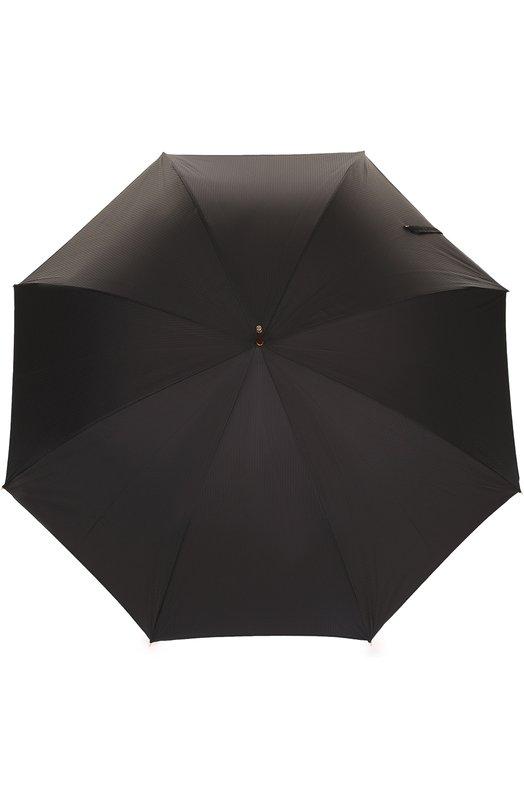 Купить Зонт-трость с отделкой кристаллами Swarovski Pasotti Ombrelli, 479/RAS0 6768/1/K1, Италия, Черный, Полиэстер: 100%; Кристаллы Сваровски: 100%; Недрагоценный металл: 100%;