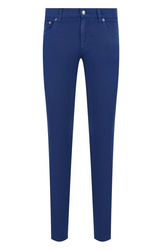 Укороченные джинсы зауженного кроя Dolce & Gabbana