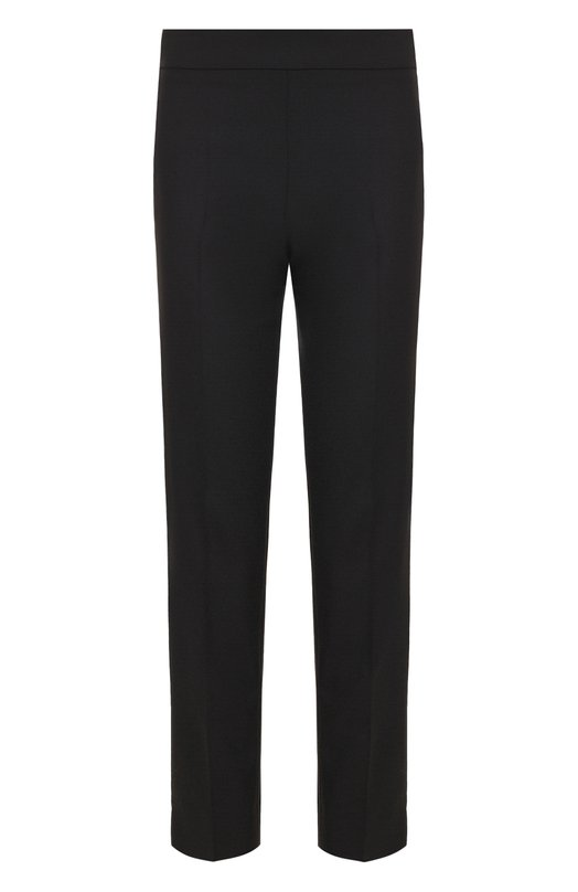 Купить Укороченные шерстяные брюки со стрелками Emporio Armani, 0NP33T/12001, Румыния, Черный, Шерсть: 98%; Эластан: 2%;