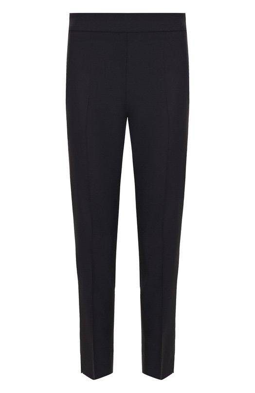 Купить Укороченные шерстяные брюки со стрелками Emporio Armani, 0NP33T/12001, Румыния, Синий, Шерсть: 98%; Эластан: 2%;