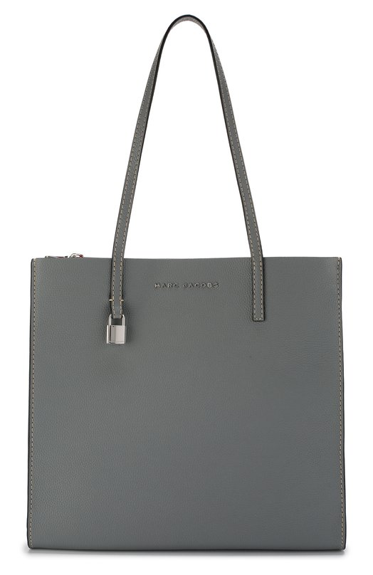 Купить Сумка-тоут The Grind Shopper Marc Jacobs, M0012669, Китай, Серый, Кожа натуральная: 100%;