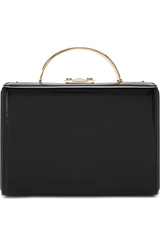 Купить Сумка Grace Small Box Mark Cross, W108298G, Италия, Черный, Кожа: 100%;