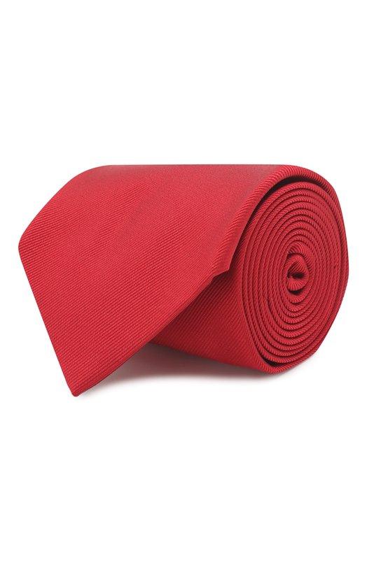 Купить Шелковый галстук Brioni, 062I00/PZ418, Италия, Красный, Шелк: 100%;