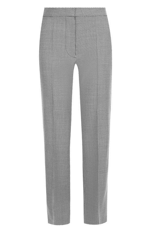 Купить Укороченные шерстяные брюки со стрелками Stella McCartney, 529866/SLB11, Венгрия, Серый, Шерсть: 100%;