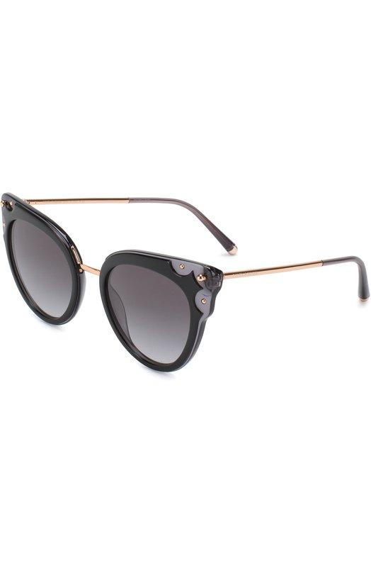 Купить Солнцезащитные очки Dolce & Gabbana, 4340-501/8G, Италия, Черный