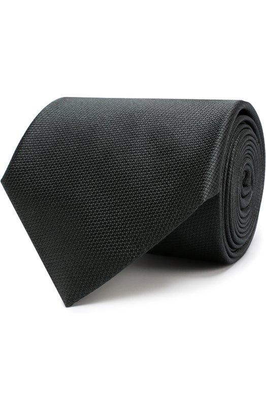 Купить Шелковый галстук Brioni, 062I00/07455, Италия, Оливковый, Шелк: 100%;