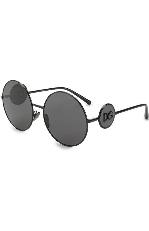 Купить Солнцезащитные очки Dolce & Gabbana, 2205-01/87, Италия, Черный