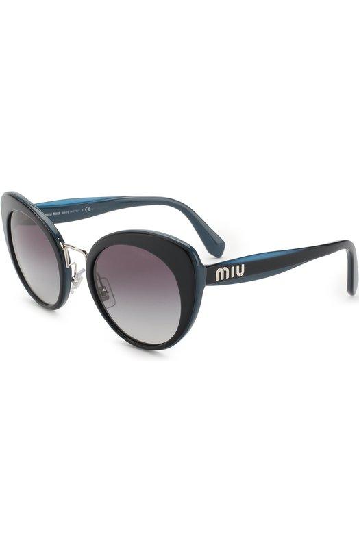 Купить Солнцезащитные очки Miu Miu, 06TS-TMY5D1, Италия, Темно-синий