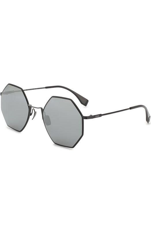 Купить Солнцезащитные очки Fendi, 0292 807, Италия, Черный