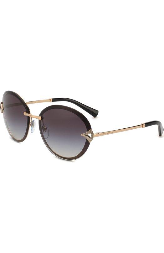Купить Солнцезащитные очки BVLGARI, 6101B-20148G, Италия, Черный