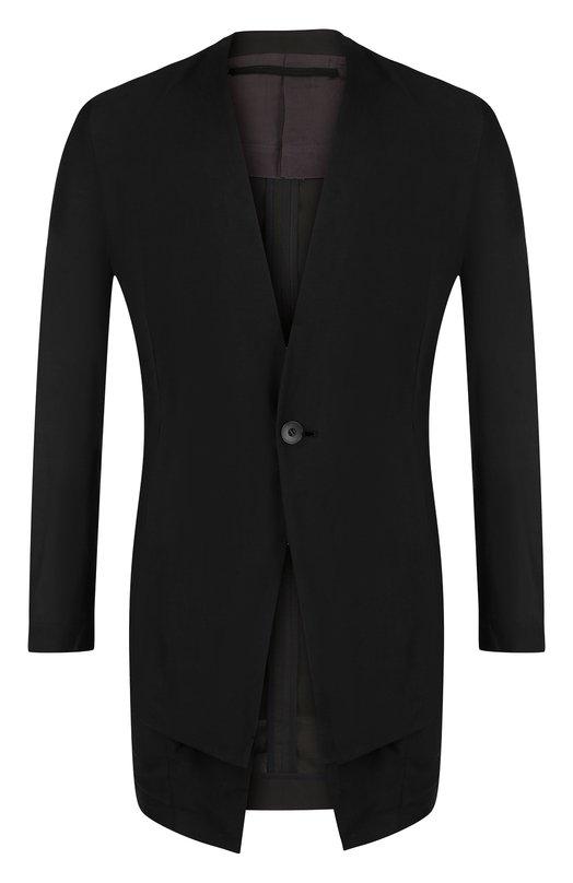 Удлиненный пиджак из смеси хлопка и вискозы со льном Julius