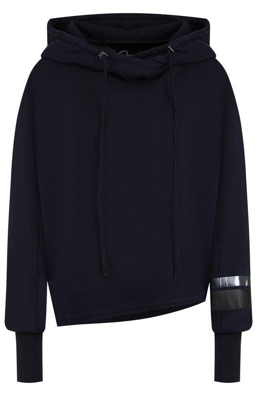 Купить Хлопковый пуловер с капюшоном Roque, RIMX879/4, Италия, Темно-синий, Хлопок: 100%;