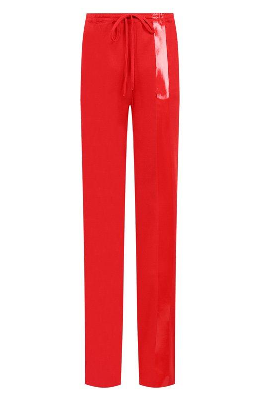 Купить Хлопковые брюки с эластичным поясом Roque, RIPY875/3, Италия, Красный, Хлопок: 100%;