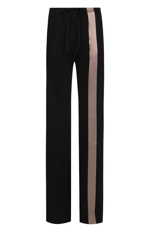 Купить Хлопковые брюки с эластичным поясом Roque, RIPY875/3, Италия, Черный, Хлопок: 100%;