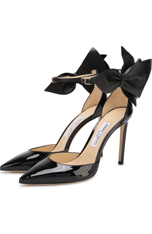 Лаковые туфли Kelley 100 на шпильке Jimmy Choo