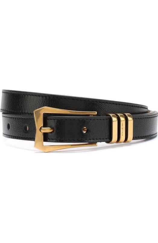 Купить Кожаный ремень с металлической пряжкой Givenchy, BB4013B045, Италия, Черный, Кожа натуральная: 100%;