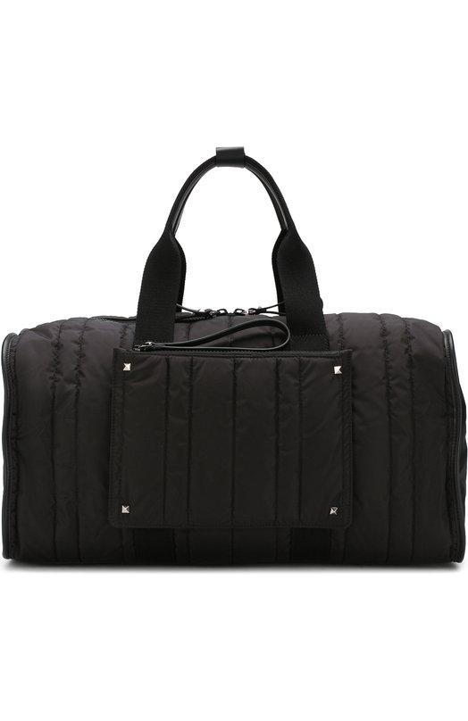 Текстильная дорожная сумка на молнии Valentino
