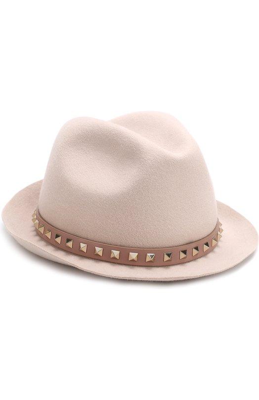 Фетровая шляпа Valentino Garavani Rockstud Valentino Valentino