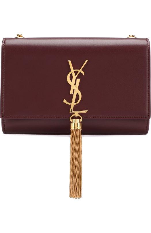 Купить Сумка Monogram Kate small Saint Laurent, 474366/C150J, Италия, Бордовый, Кожа натуральная: 100%;