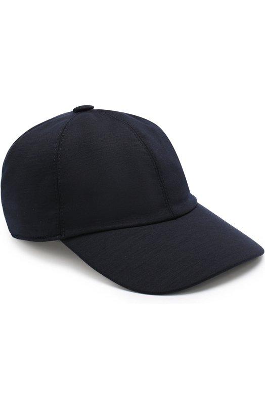 Купить Шерстяная бейсболка Z Zegna, Z4I60/B2A, Италия, Темно-синий, Шерсть: 100%;