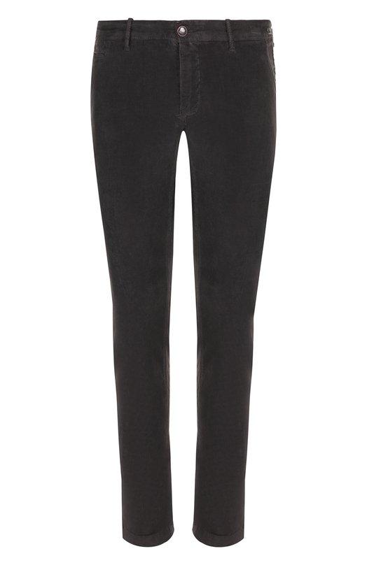 Купить Хлопковые брюки прямого кроя Jacob Cohen, B0BBY C0MF 01171-S, Италия, Серый, Хлопок: 98%; Эластан: 2%;