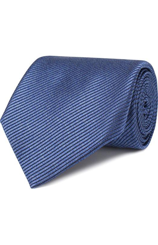 Купить Шелковый галстук Tom Ford, 4TF05/XTM, Италия, Синий, Шелк: 100%;