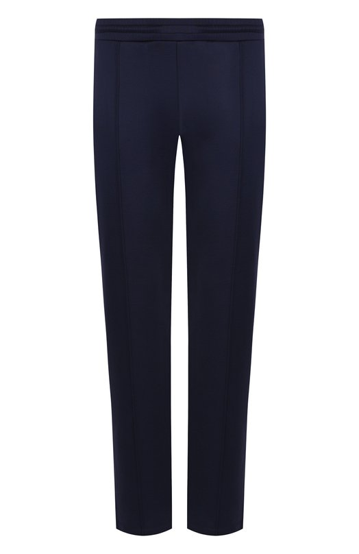 Хлопковые брюки прямого кроя с поясом на резинке  Valentino
