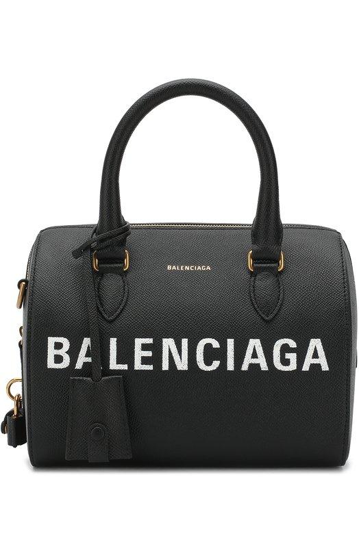 Купить Сумка Ville S Balenciaga, 518872/00T0M, Италия, Черный, Кожа: 100%;