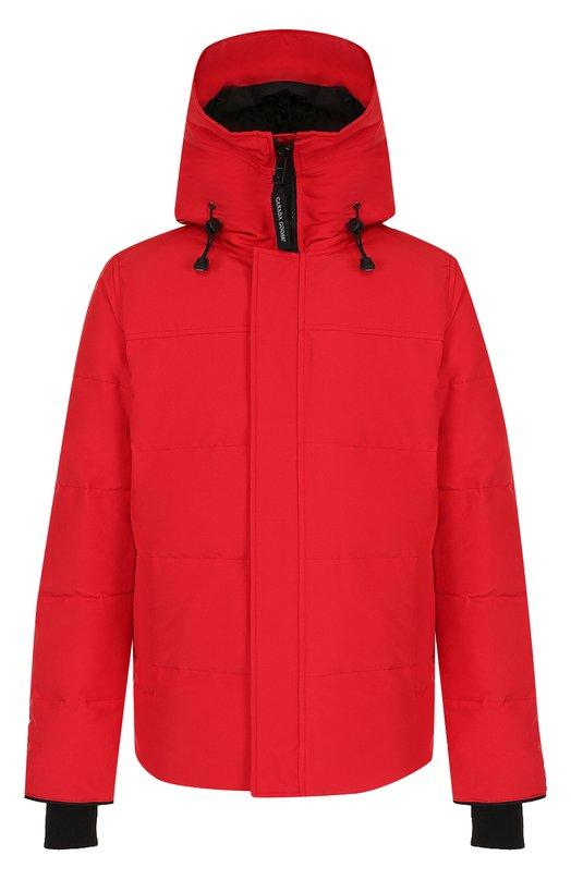 Купить Пуховая парка Macmillan Canada Goose, 3804M, Канада, Красный, Полиэстер: 85%; Наполнитель-Утиный пух: 80%; Наполнитель-перо Утиное: 20%; Хлопок: 15%; Подкладка-Полиамид: 100%;