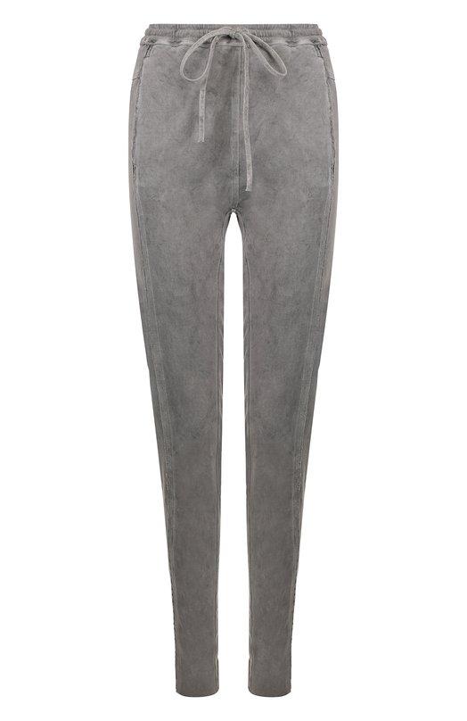 Купить Хлопковые брюки с карманами и эластичным поясом Roque, RIPY874/2, Италия, Темно-серый, Хлопок: 100%;