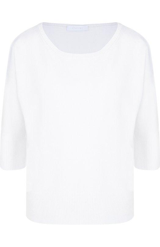 Купить Однотонный кашемировый пуловер с круглым вырезом Cruciani, CD21.030, Италия, Белый, Кашемир: 100%;