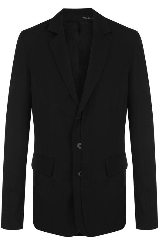 Однобортный пиджак из шерсти Isabel Benenato
