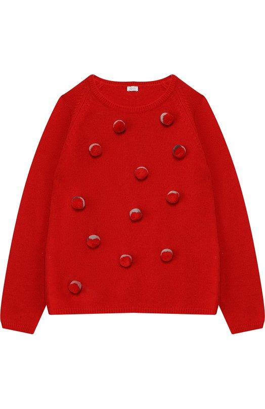 Шерстяной пуловер Il Gufo
