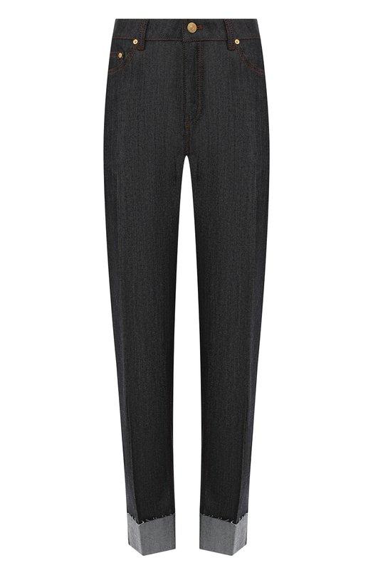 Купить Укороченные джинсы с отворотами Escada Sport, 5028106, Румыния, Темно-синий, Хлопок: 98%; Эластан: 2%;