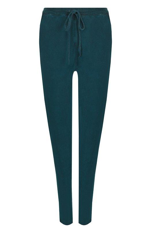 Купить Хлопковые брюки с карманами Roque, RIPY874/2, Италия, Темно-зеленый, Хлопок: 100%;