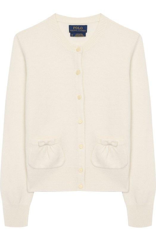 Кашемировый кардиган на пуговицах Polo Ralph Lauren