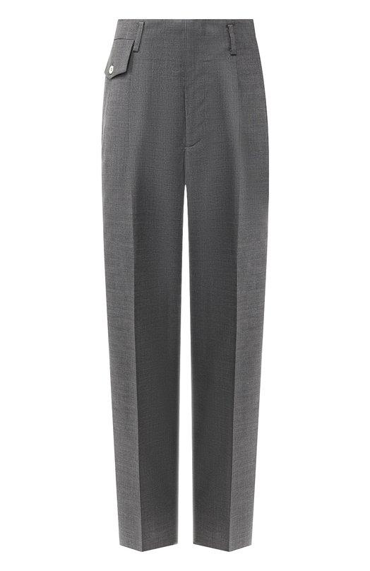 Купить Шерстяные брюки со стрелками Golden Goose Deluxe Brand, G33WP017.A1, Италия, Серый, Шерсть: 100%;