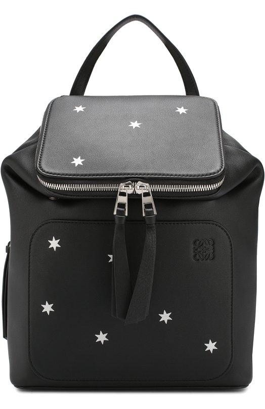 Купить Рюкзак Goya small Loewe, 307.30SU15, Испания, Черный, Кожа: 100%;
